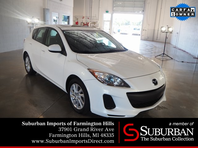 Pre-Owned 2012 Mazda3 i Grand Touring
