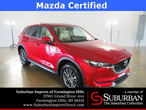 Pre-Owned 2017 Mazda CX-5 Touring